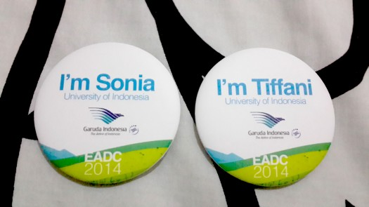 OUR BADGES! Designed by my brother!